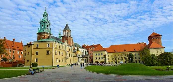 Wawel hill during Krakow John Paul II Trail Tour