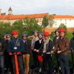 ludzie z firmy podczas wycieczki Segway Kraków