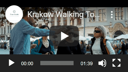Guided walking tour in Krakow with Seweryn
