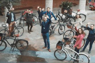 krakow bike tour